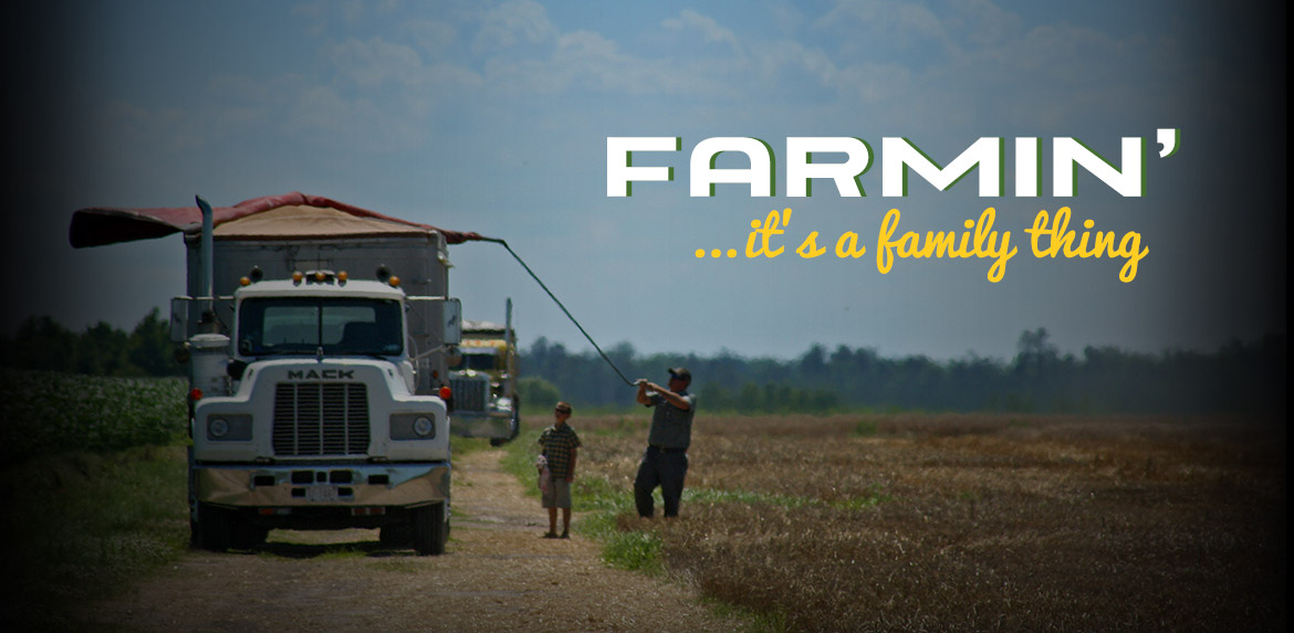 Farming it is a family thing